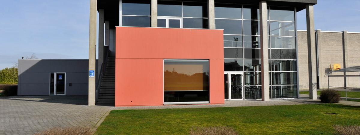 Aluminium Buitenschrijnwerk Sporthal Wingene