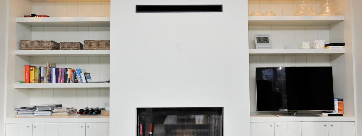 totaal interieur binneninchting villa koksijde