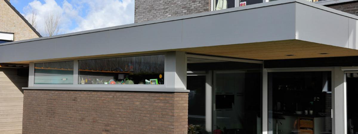 totaalrenovatie, uitbreiding woning Roeselare